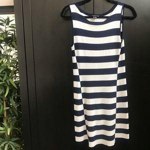 Theory Nautical Striped Dress